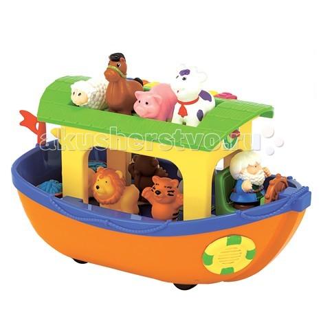 Развивающая игрушка Kiddieland Ноев ковчег KID 049734