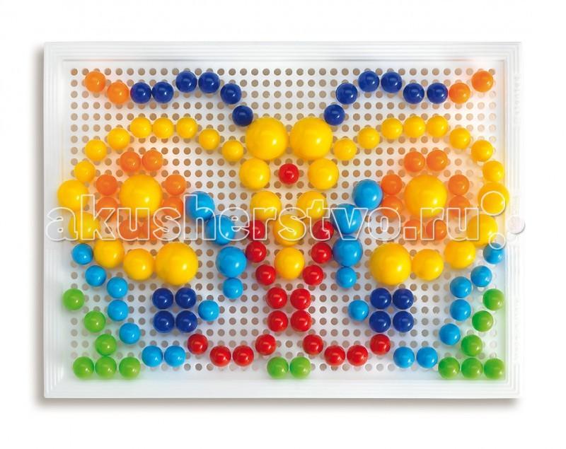 Мозаика Quercetti Мозаика Фантастические цвета 160 деталей quercetti настольная игра распредели цвета мини