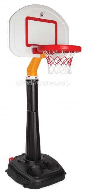 Pilsan Большое баскетбольное кольцо с щитомБольшое баскетбольное кольцо с щитомБольшое баскетбольное кольцо Pilsan с щитом   Особенности:    15 режимов регулировки высоты на 152 - 280 см   Удобно перемещать за счет колес   В нижнюю часть можно залить воду или песок   Эргономичный дизайн    Размеры: 76,5х112х280 см<br>
