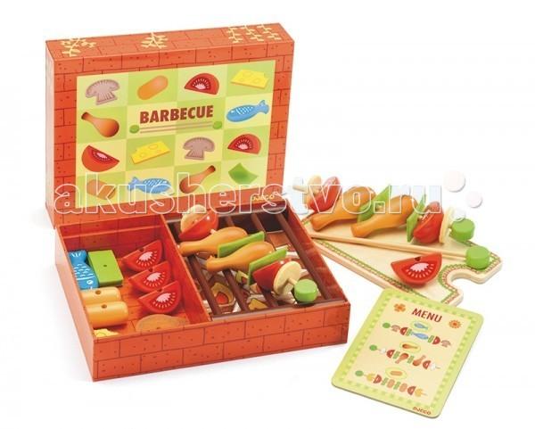 Деревянная игрушка Djeco Набор для сюжетно-ролевой игры Барбекю