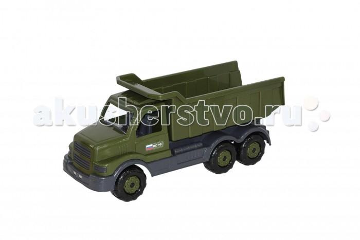 Машины Полесье Самосвал военный Сталкер самосвал полесье супергигант 80 5 см 5113