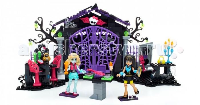 Конструктор Mega Bloks Mattel Monster High Вечеринка в саду (371 деталь)Mattel Monster High Вечеринка в саду (371 деталь)Вечеринка в саду Mega Bloks Monster High® – это последний писк сезона, и всем до смерти хочется на нее попасть!   Собери кладбище, где ВИП-гости вечеринки Cleo de Nile® и Lagoona Blue® готовятся к самому крутому мероприятию года. Открой ворота кладбища, за которыми находится крутой танцпол с настоящими огнями, могилы, которые превращаются в колонки и пульт диджея, которого ты можешь попросить поставить твою любимую песню.   Нажми на кнопку, чтобы проиграть три настоящих песни Monster High®. Не выключай музыку, чтобы вечеринка могла продолжаться!  Идеально подходит для детей от 6 лет и старше  Описание: Набор для вечеринки на кладбище с танцполом, пультом диджея, работающими лампами и могилами, превращенными в колонки. Набор может проигрывать три песни школы монстров Тщательно детализированные минифигурки монстров Cleo de Nile® и Lagoona Blue® В набор входят iCoffin® и аксессуары Комбинируй с другими наборами от Mega Bloks Monster High® , чтобы создать свой собственный мир ужасно интересных приключений!<br>
