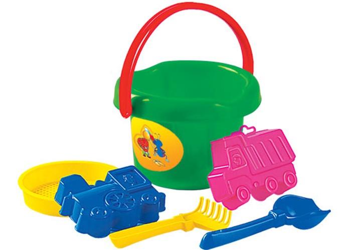 Игрушки в песочницу Полесье Набор для игры с песком № 34 самосвал полесье супергигант 80 5 см 5113