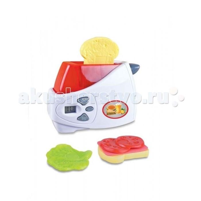 Ролевые игры Zhorya Тостер на батарейках zhorya тостер юная помощница с аксессуарами