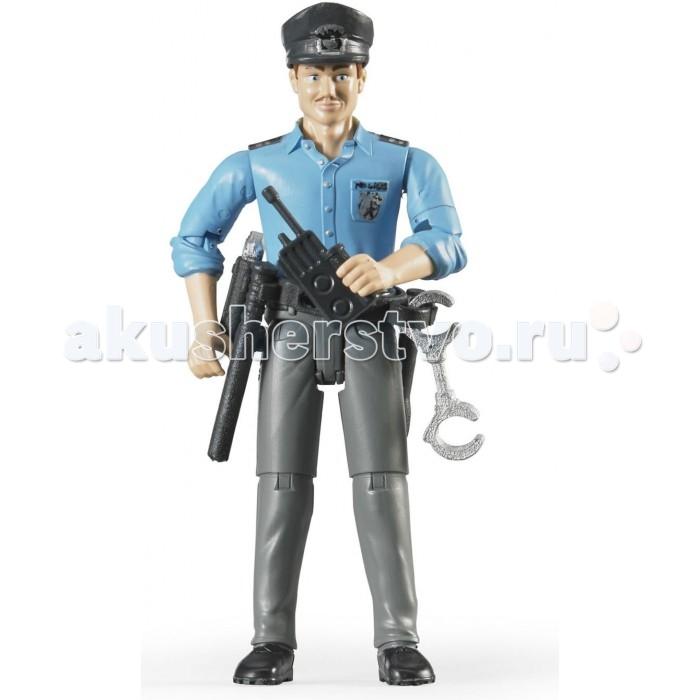 Игровые фигурки Bruder Фигурка полицейского с аксессуарами