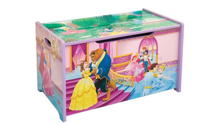 Disney Короб для игрушек Принцесса Красавица и чудовищеКороб для игрушек Принцесса Красавица и чудовищеМатериал: МДФ. Размеры: 62,5*39*33,2.<br>