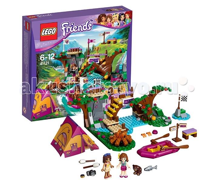Lego Lego Friends 41121 Лего Подружки Спортивный лагерь: сплав по реке lego lego friends спортивный лагерь сплав по реке