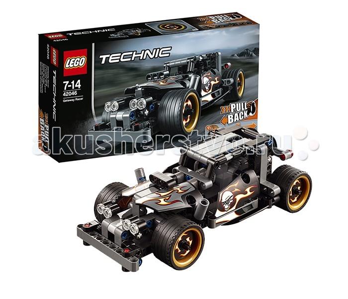 Lego Lego Technic 42046 Лего Техник Гоночный автомобиль для побега lego technic конструктор гоночный автомобиль для побега