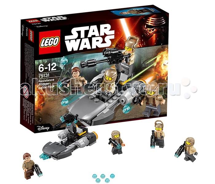 Lego Lego Star Wars 75131 Лего Звездные Войны Боевой набор Сопротивления  lego star wars 75131 боевой набор сопротивления