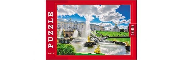 Пазлы Рыжий кот Пазлы Фонтаны (1000 элементов) бассейны и фонтаны