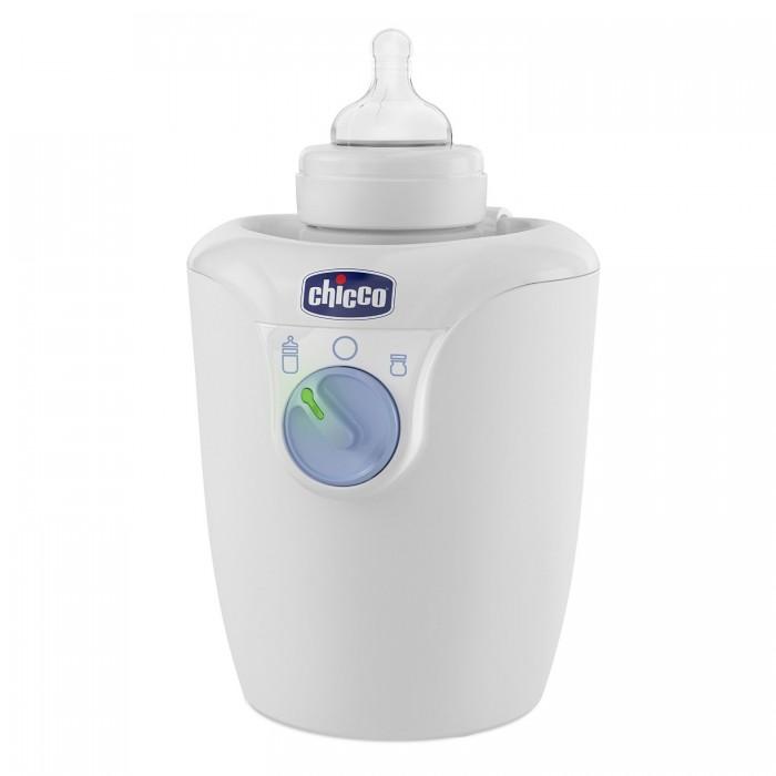Chicco Подогреватель для бутылочек HomeПодогреватель для бутылочек HomeОбновленный подогреватель для бутылочек Chicco облегчит мамины заботы в период грудного вскармливания и ночных кормлений малыша.  Подогревание жидкости происходит равномерно за счет того, что подогреваемое питание погружено в воду, которая нагревается постепенно, равномерно и со всех сторон.   По окончании цикла подогревания температура жидкости становится 37 градусов, что соответствует оптимальной и безопасной температуре питания для новорожденных.  Подогреватель имеет два режима: подогревание бутылочки и подогревание маленькой баночки с детским питанием.   Режимы выбираются с помощью удобного переключателя со световым индикатором.  Об окончании подогревания свидетельствуют 5 звуковых сигналов.  По окончании подогревания подогреватель продолжает подогревать бутылочку, и поддерживает тепло в течение 60 минут. Подогреватель подходит для бутылочек объемом 150, 250, 330 мл как для стеклянных, так и для пластиковых, а также для баночек с детским питанием.  Время подогревания зависит от объема бутылочки, материала из которого сделана бутылочка (стекло/пластик) и от количества разогреваемого продукта, его исходной температуры.<br>