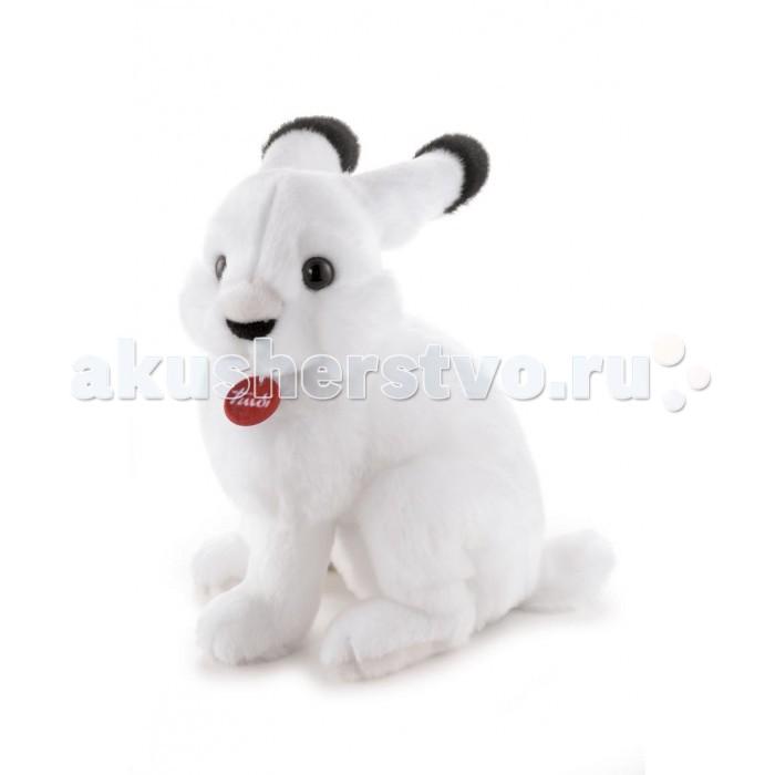 Мягкая игрушка Trudi Арктический заяц Мэг 32 смАрктический заяц Мэг 32 смМягкая игрушка Trudi Арктический заяц Мэг 32 см. Арктический заяц Мэг (сидячий) станет хорошим подарком для вашего ребенка.   С очаровательным зайцем Мэг можно придумать много интересных и веселых игр, которые помогут в дальнейшем развитии малыша. Но самое приятное для детей - спать с этим чудесным мягким зайцем в обнимку.  Игрушка выполнена из качественных, не токсичных, гипоаллергенных и грязеотталкивающих материалов. И даже если белоснежная шерстка зайца испачкается, игрушку можно легко постирать в стиральной машине, при этом форма и цвет зайца не изменятся.  Размер игрушки: 32 см<br>