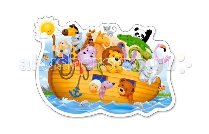 Пазлы Castorland Пазлы MIDI Ноев ковчег 15 элементов