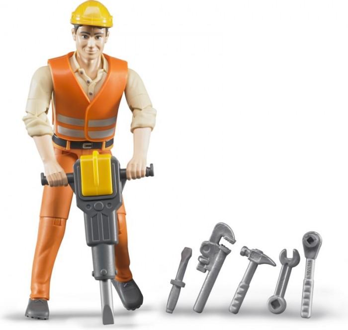 Игровые фигурки Bruder Фигурка строителя