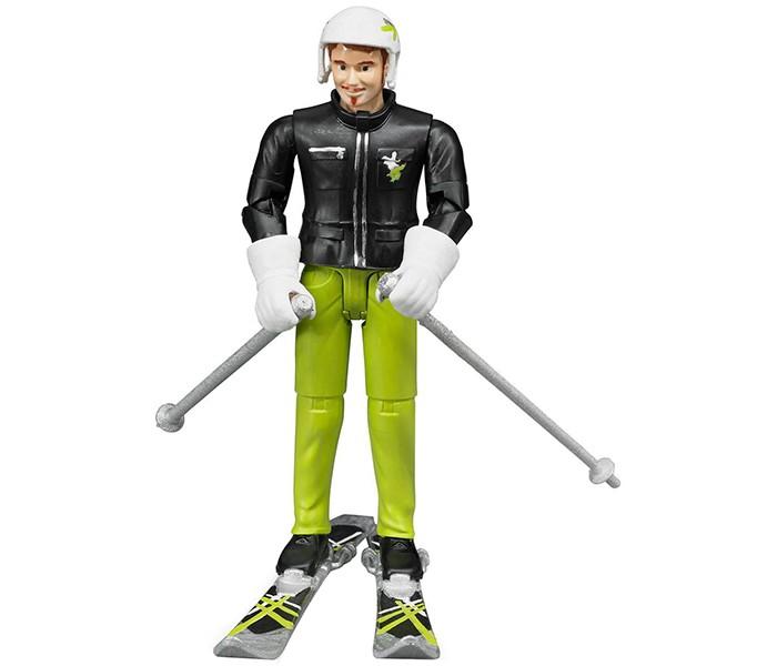 Игровые фигурки Bruder Фигурка лыжника