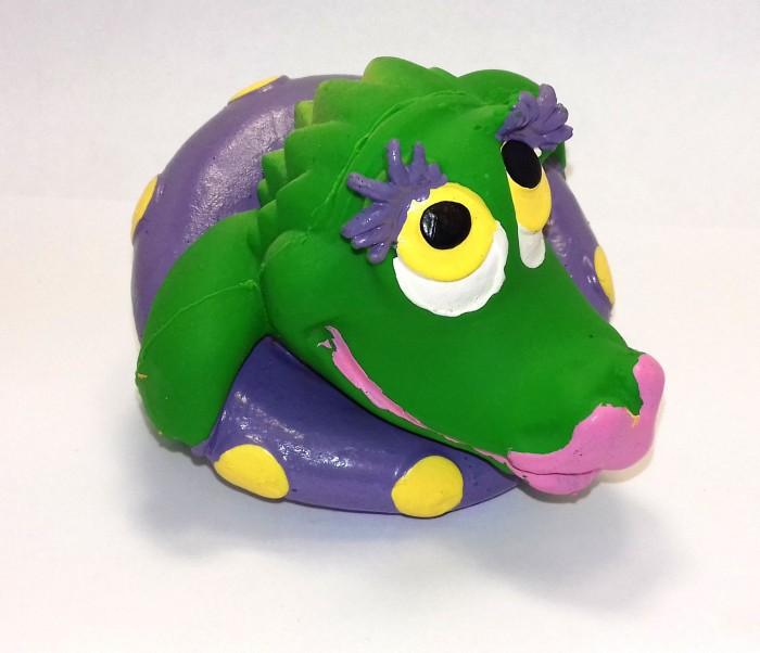 Игрушки для ванны Lanco Латексная игрушка Крокодил SOS 1258 латексные искусственные розочки в розницу москва