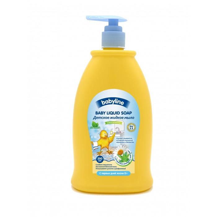 Косметика для новорожденных Babyline Детское жидкое мыло 250 мл жидкое мыло sodasan пряный апельсин 250 мл