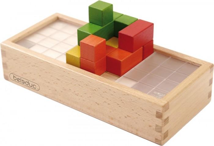 Beleduc Развивающая игра Магический кубРазвивающая игра Магический кубBeleduc Развивающая игра Магический куб - эксклюзивная запатентованная головоломка, состоящая из платформы и 8 блоков, собранных из 5 кубов.   Особенности: Передвигая подвижную часть платформы, как указано в инструкции, можно увеличивать сложность игры и постепенно оттачивать интеллектуальные способности. В результате игрок становится более наблюдательным и восприимчивым к пространственным изменениям. Магический куб – головоломка, полюбившаяся детям и взрослым во всем мире. Специально разработанная платформа позволяет игрокам изменять уровни сложности, создавать новые задачи и находить универсальные решения.  В комплекте: 8 блоков, состоящих из 5 кубов. 1 эксклюзивно-запатентованная платформа. 1 инструкция. Блоки из 5 кубов<br>