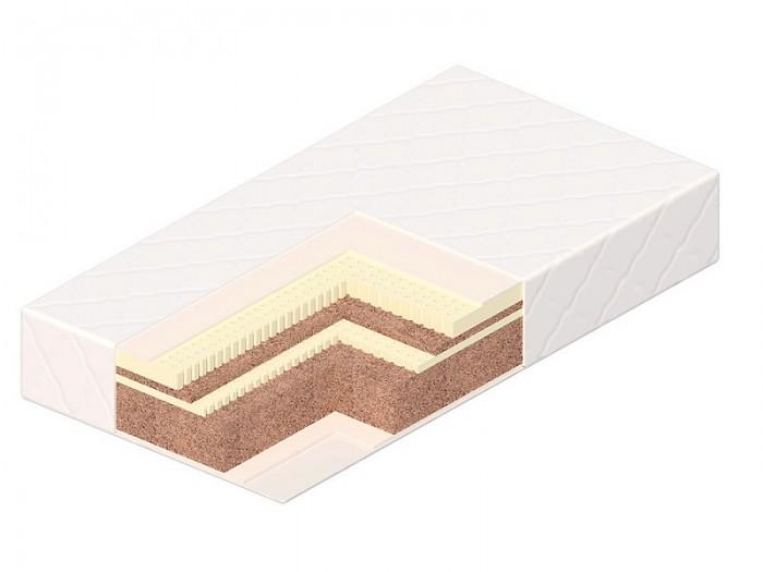 Матрас Vikalex Флоренция 120х60х12Флоренция 120х60х12Матрас в кроватку Vikalex Флоренция 120х60х12 - это двухсторонний матрас разной степени жесткости на основе кокосового волокна и латекса. Жесткая кокосовая койра формирует осанку ребенка. Чехол из бамбуковой ткани – природный антисептик, мгновенно впитывает влагу. С таким матрасом сон ребенка будет безмятежным. Европейский сертификат соответствия СЕ / Сертификат РСТ   Состав матраса: Анатомический латекс (20 мм.)  Латексированная кокосовая койра (10 мм.)  Анатомический латекс (10 мм.)  Латексированная кокосовая койра (60 мм.)  Нетканый материал Airotek  Чехол съемный из Бамбуковой ткани (Bamboo)   Кокосовая койра. Кокосовая койра известна эластичностью, прочностью и долговечностью. Помимо прочности и износоустойчивости, кокосовые матрасы обладают рядом таких преимуществ, как гипоалергенность, влагоустойчивость (кокосовая койра не впитывает воду) и воздухопроницаемость.  Латекс натуральный. Латекс - это тоже натуральный материал - вспененный сок каучукового дерева. Он очень упругий, поэтому прекрасно восстанавливает первоначальную форму. Он также выполняет главное условие ортопедических матрасов.<br>