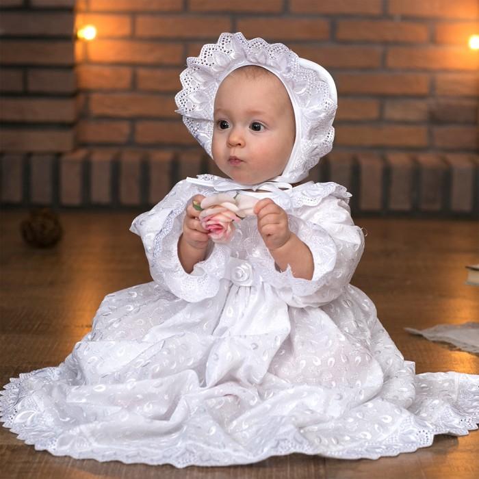 Крестильная одежда Little People Крестильный набор на девочку куплю лифчики на девочку 11 лет
