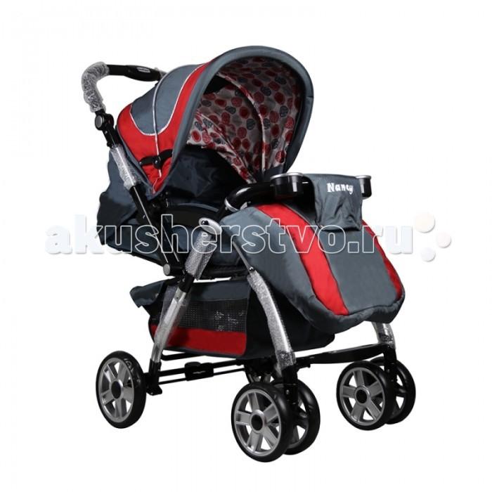 Прогулочная коляска Indigo NancyNancyПрогулочная коляска Indigo Nancy. Эту модель российские родители оценят не только за внушительную конструкцию, но и за прекрасные маневренные вездеходные колеса. Передние колеса большие по диаметру, парные, это позволяет легко вести и удерживать коляску в нужном направлении. При этом предусмотрена фиксация колес в положении на «прямой ход». Задние колеса чуть больше передних, они отвечают за проходимость.  Для маленького хозяина предусмотрено комфортное место, с возможностью регулировки спинки, от лежачего до сидячего положения, с тремя промежуточными. Подножка регулируется по высоте.  Складной капюшон имеет очень внушительные размеры. При полном опускании он касается бампера, закрывая ребенка полностью, поэтому малыш защищен от ветра, дождя и снега на 100%. Присматривать за родителями малыш сможет в смотровое окно.  На зимней прогулке в прогулочной коляске Nancy тепло и комфорт обеспечивает утепленный чехол на ножки.  Рама коляски алюминиевая, крепкая и надежная, при этом легко складывается по типу трость и весит всего 10 кг.  Особенности: Алюминевая рама Передние - 4 колеса, диаметр: 18 см., вращающиеся на 360 C Задние – 2 колеса, диаметр: 20 см. Блокираторы задних колёс, фиксатор поворотных колёс Большая корзина для разных предметов. Увеличенный капюшон с окошком Регулировка наклона спинки в 5 положениях. Съёмная столешница. Реверсионная ручка. 5ти-точечный ремень безопасности Регулируемая подставка для ног, мягкие ручки с анти-скользящим покрытием. Регулируемая по высоте ручка Складывается-раскладывается одним движением Сидение (ДxШ) (см) 30 x 35.<br>