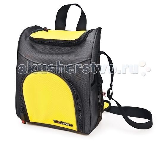 Iris Barcelona ТермоЛанчбокс-рюкзак Traveller MyLunchbagТермоЛанчбокс-рюкзак Traveller MyLunchbagИзотермическая сумка-ланчбокс с интересным внутренним оформлением. Подойдет маме в помощь по уходу за ребенком. Ее можно взять с собой куда угодно: на работу, на прогулку или в путешествие. В течение нескольких часов ланчбокс сохранит еду свежей и вкусной.  Включают внутренний карман из сетки для салфеток и приборов.   Для удобной переноски сумка оснащена ручкой.   В комплект входит: Карман для салфеток или аксессуаров  Уход: Сумку стирать вручную в теплой воде с мылом. Материал: Полиэстер<br>