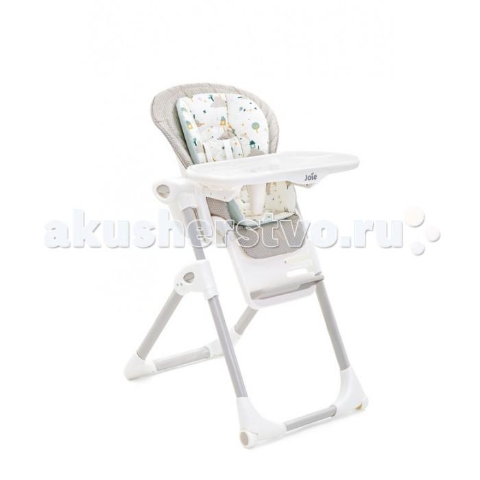 Стульчик для кормления Joie Mimzy LXMimzy LXСтульчик для кормления Joie Mimzy LX  Особенности: Открытая конструкция стульчика для лёгкого доступа к ребёнку Сиденье стульчика мгновенно регулируется по высоте в 7 положениях, имеет 3 уровня наклона и 3 положения подножки Низкопрофильная рама позволяет вам и вашему малышу быть ближе друг к другу во время кормления Вставка в поднос легко снимается и быстро моется Вставки в поднос можно использовать как тарелку, когда ребёнок сможет сидеть за взрослым столом и мыть в посудомоечной машине Все вставки в поднос можно мыть в посудомоечной машине Моментальное складывание до компактных размеров всего лишь при нажатии одной кнопки 2 больших колеса для удобного перемещения Поднос можно прикрепить к задним ножкам стульчика, для компактного и удобного хранения Поднос регулируется по высоте в трех положениях для удобства размещения ребенка по мере его роста 5-точечный ремень для безопасности вашего ребёнка мягкая вставка   Использование продукта: от рождения до 15 кг, от 6 месяцев до 3 лет Размер в разложенном состоянии: 101,3cm x 58,4cm x 76,2cm Размер в сложенном состоянии: 102,2cm x 51,4cm x 28,9cm Вес: 10,85 кг<br>