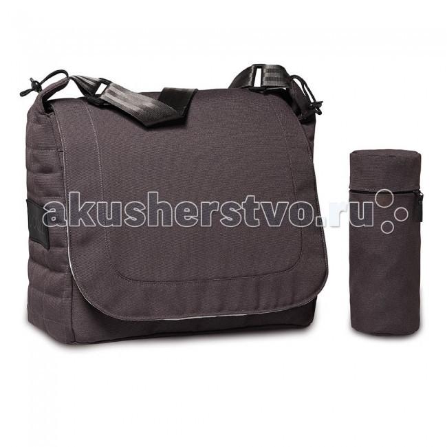 Joolz к коляске Day Quadroк коляске Day QuadroФирменная сумка Joolz имеет много удобных кармашков на молнии, различного размера - что позволяет взять с собой на прогулку множество полезных вещей. Имеется мягкая плечевая накладка, которая создает дополнительный комфорт родителям. Имеет закрывающиеся при помощи магнитов кармашки, что позволяет быстро и удобно пользоваться сумочкой в любое время года. Стильная сумка станет незаменимым помощником для родителей как в первые после рождения малыша месяцы, так и на протяжении всего его дошкольного возраста.  Характеристики: стильный дизайн сумки удачно сочетается с ее функциональными достоинствами, что очень важно для современной молодой мамы в сумке можно хранить и брать с собой на прогулку все необходимые для ухода за малышом вещи регулируемый плечевой ремень можно носить на плече, при необходимости, сумка легко крепится на коляску имеет много удобных кармашков на молнии, различного размера удобный матрасик для пеленания ребенка и тepмocумкa для бутылoчeк в комплекте<br>
