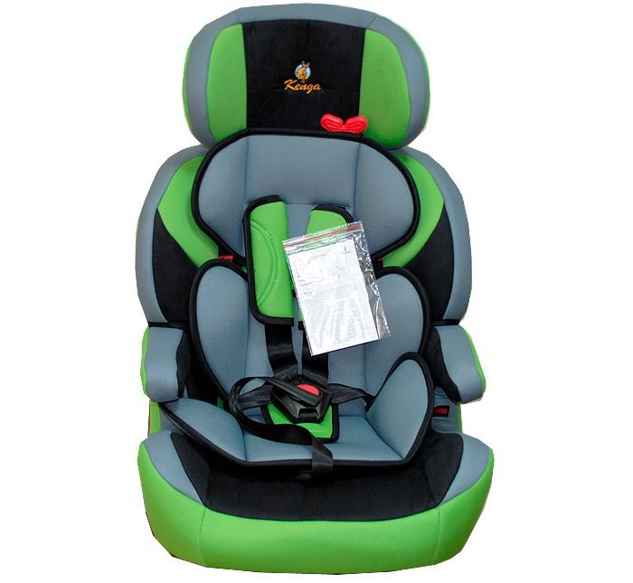 Автокресло Kenga LD01LD01Данная модель автокресла Kenga LD01 универсальна, она отлично подходит для самых маленьких и детей, что уже немного повзрослели (от 9 до 36 кг). Возраст малышей примерно от 9 месяцев и до 12 лет.   Детское автокресло представляет отличное соотношение цены и качества. Основа выполнена из прочного пластика, который устойчив к фронтальным и боковым ударам, так же к особенностям можно отнести глубокий подголовник и спинку с усиленной боковой защитой. Встроены ремни безопасности с пятью точками креплениями и удобными широкими плечевыми накладками. Подголовник так же имеет боковую защиту и регулировку высоты по мере роста ребенка.    Особенности: Как только ребенок станет взрослее, спинку кресла легко можно убрать и перевозить ребенка уже на подушке-бустере.  Чехлы мягкие и приятные к телу легко снимаются и стираются при температуре 30 градусов.   Кресло в автомобиле устанавливается на сидение по направлению движения штатными ремнями.   Модель с успехом прошла необходимые испытания и краш-тесты, что подтверждает его надежность и высокий уровень комфорта.   Детское автокресло Kenga LD01 полностью соответствует европейскому стандарту безопасности ECE R044/04.<br>