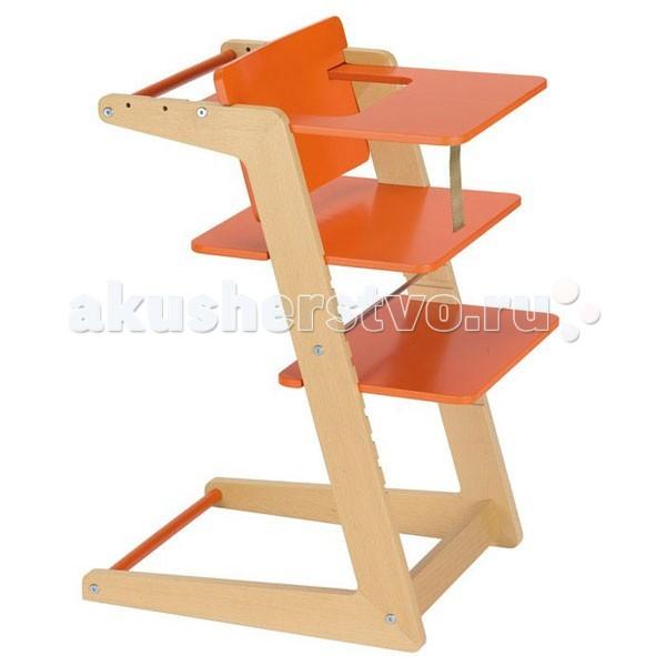 Стульчик для кормления Kettler Herlag UnoHerlag UnoСтульчик для кормления Kettler Herlag Uno  Новый высокий стул для кормления ребёнка Uno позволяет свободно и безопасно двигаться сидя за столом.   Этот инновационный деревянный стул удовлетворяет последним стандартам в области эргономики, оставляя при этом детям много места для движения.   Высота и глубина сиденья немецкого стульчика Herlag-Kettler, а так же подставка для ног очень легко регулируются по росту ребенка, а поднос и ремень являются съемными.   Детский стул Uno предлагает детям свободу движения в свежем и современном дизайне.  Элегантная рама стула сделана из массива бука, все материалы высокого качества и просты в эксплуатации.<br>