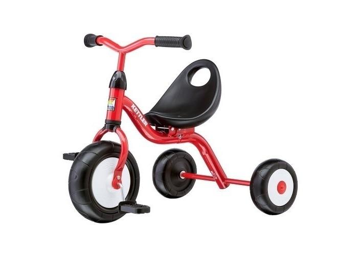 Велосипед трехколесный Kettler PrimatrikePrimatrikeKettler Беговел Primatrike Ультралекгий детский трехколесный велосипед Kettler Primatrike предназначен для самых маленьких, но уже самостоятельных детей. Красивый, удобный и надежный велосипед составит хорошую компанию Вашему малышу на прогулке. Ножками топать, конечно, тоже здорово, но кататься-то намного веселее!  Трехколесный велосипед для малышей снабжен широкими устойчивыми колесами с декоративными дисками. Шины литые, поэтому следить, достаточно ли они надуты, Вам не придется. Велосипед всегда готов к прогулке. Все, что требуется, это радоваться тому, как малыш подрастает и постепенно переставлять сидение в другое положение - под его рост.  Велосипед Primatrike прекрасно понимает, для кого он изготовлен. Поэтому сидение имеет удобную спинку, поддерживающую малыша. Соединение руля с рамой закрыто симпатичным предохранительным колпачком. А рама защищена прочным и невыгорающим полиэстеровым покрытием. То есть, любимый детский велосипед всегда будет ярким и практически без царапин.<br>