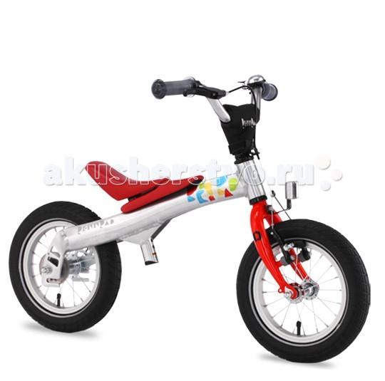 Беговел Rennrad Велосипед 2 в 1 12Велосипед 2 в 1 12Rennrad Беговел-велосипед 2 в 1 12   Благодаря беговелу-велосипеду Rennrad два в одном ваш ребенок легко и быстро научится держать равновесие. Rennrad – это велосипед, специально разработанный в Германии для детей, большинство деталей которого изготовлено из высококачественного алюминиевого сплава.  Особенности: Он прошел проверку Государственной инспекции безопасности и соответствует требованиям жестких стандартов и правил.  Его съемные педали разработаны с помощью врачей ортопедов и педиатров, чтобы помочь детям легко и безопасно научиться балансировать, наклоняться на велосипеде и управлять им с помощью руля.  Его уникальная беспедальная конструкция (режим беговела) придает ребенку чувство уверенности и исключает страх, позволяя детям держать ноги на земле и катиться вперед, балансируя и отталкиваясь в своем собственном темпе. Это позволяет им полностью наслаждаться поездкой на велосипеде-беговеле Rennrad. Когда дети становятся старше и уверенно держат равновесие, педали можно установить на место, и беговел Rennrad превратится в полноценный детский велосипед.  Конструкция «два в одном» позволяет детям пользоваться своим велосипедом долгое время. Легкая алюминиевая рама имеет специальную форму, которая обеспечивает наилучшую жетскость конструкции и исключает возможные деформации в процессе эксплуатации.  Специальная мягкая накладка на верхней части рамы, обеспечивает комфорт малышу во время катания на беговеле и обеспечивает дополнительную защиту от возможных травм.  Все компоненты беговела-велосипеда - седло, педали, шатуны, рулевые и тормозная ручка разработаны с учетом детской анатомии и обеспечивают дополнительный комфорт.  Передняя звезда, цепь и задняя звездочка полностью закрыты пластиковым чехлом, что обеспечивает безопасность и чистоту рабочих поверхностей во время катания.  Легкие шины Innova slick имеют оптимальный протектор-рисунок, обеспечивающий наименьшее сопротивление качению и как результат - наи