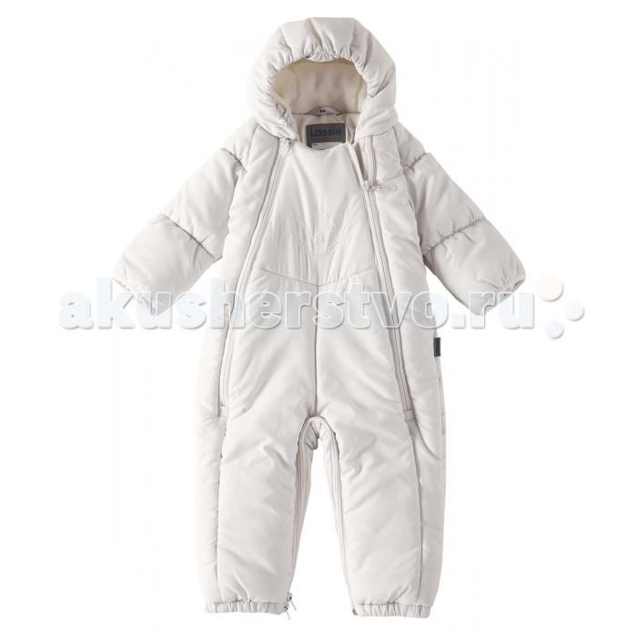 Lassie by Reima Комбинезон зимний 710713Комбинезон зимний 710713Lassie by Reima Комбинезон зимний 710713 для самых маленьких.  Особенности: водоотталкивающий, ветронепроницаемый и «дышащий» материал превращается в спальный мешок гладкая, приятная на ощупь подкладка из джерси (хлопка) средняя степень утепления эластичные манжеты рукава с подгибом эластичные штанины съемные эластичные штрипки от -10 -30<br>