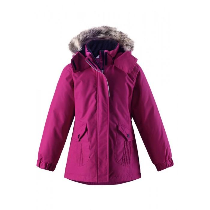 Lassie by Reima Куртка зимняя 721716Куртка зимняя 721716Lassie by Reima Куртка зимняя 721716 для детей.  Особенности: водоотталкивающий, ветронепроницаемый и «дышащий» материал крой для девочек гладкая подкладка из полиэстра средняя степень утепления безопасный съемный капюшон с отсоединяемой меховой каймой из искусственного меха эластичные манжеты регулируемый обхват талии карманы с клапанами от -10 -30<br>