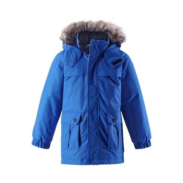Lassie by Reima Куртка зимняя 721717Куртка зимняя 721717Lassie by Reima Куртка зимняя 721717 для детей.  Особенности: водоотталкивающий, ветронепроницаемый и «дышащий» материал гладкая подкладка из полиэстра средняя степень утепления безопасный съемный капюшон с отсоединяемой меховой каймой из искусственного меха эластичные манжеты карманы с клапанамиот -10 -30<br>