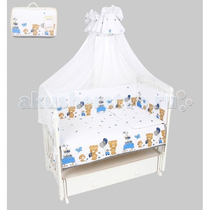 Комплекты в кроватку Leader Kids Мишкин праздник (7 предметов) комплекты в кроватку leader kids мишки в квадратах 7 предметов