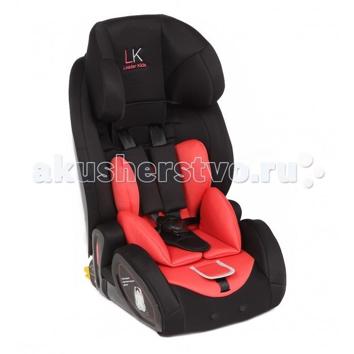 Автокресло Leader Kids Verona IsofixVerona IsofixАвтокресло Leader Kids Verona Isofix  Детское автомобильное кресло Leader Kids Verona относится к группе 1/2/3 и разработано для комфортной и безопасной перевозки маленьких пассажиров весом от 9-ти до 36-ти кг.   Модель может быть расположена как на заднем автомобильном сидении, так и рядом с водителем. В последнем случае перед установкой необходимо в обязательном порядке отключить фронтальную подушку безопасности.  Кресло закрепляется при помощи универсальной и надежной системы Isofix, благодаря которой создается устойчивость и высокая стабильность, а также исключается скольжение на поворотах и опрокидывание при резком торможении.  Каркас кресла изготовлен из прочного и ударостойкого пластика, мало подвергающемуся деформациям от внешних воздействий. Обивка кресла выполнена из гипоаллергенного материала, приятного на ощупь. За счет пористой структуры обеспечивается естественная вентиляция, необходимая для поддержания комфортного микроклимата. Ребенок дополнительно фиксируется внутренними пятиточечными ремнями с центральным замком. Ремни проходят по плечам и между ног ребенка. Мягкие накладки уменьшают процесс трения. Ремни регулируются по высоте в зависимости от роста ребенка.  Голова ребенка дополнительно защищена боковыми стенками.  Данное автокресло имеет возможность, в последующем, использоваться как бустер.  Съемную обивку кресла можно при необходимости стирать.<br>