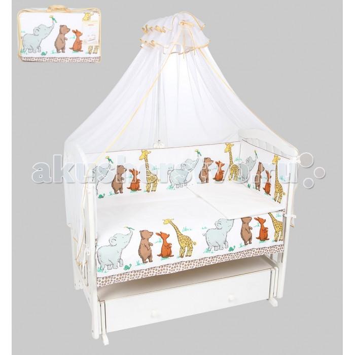 Комплект в кроватку Leader Kids Зоопарк (7 предметов)