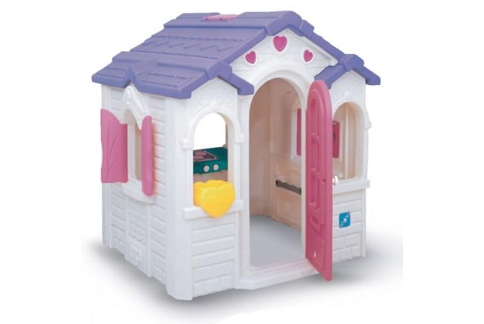 Lerado Игровой домик L-901Игровой домик L-901Lerado Домик игровой L-901 состоит из стен и крыши, изготовленных из высокопрочного и морозостойкого пластика.   Легко собирается и не требует бетонирования Пол отсутствует Удобен в эксплуатации. Игровой домик выполнен в пряничном стиле с полноразмерной дверью, открывающимися и закрывающимися ставнями, декоративной крышей, покрытой черепицей и имеющей световое окно, ящиком для цветов  Внутри имеются часы с движущимися стрелками, зеркалом и трансформируемая кухонная плита, которая поворачивается на 180 градусов и превращается в игрушечное барбекю Отсутствие пола позволяет разместить его абсолютно на любом покрытии. Если ставить его во дворе, то лучше сделать песчаный пол, тогда даже в дождливую или ветреную погоду дети смогут играть в нем как в песочнице.                                                                                                                                                                                     Все конструкции фирмы Lerado выполнены из высокопрочного и морозостойкого пластика (ПНД).   Размеры: 1.19 х 1.78 х 1.70 м. Размеры упаковки: 105 x 77 x 124 см. Вес: 53 кг.<br>