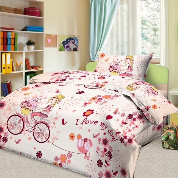 Постельное белье 1.5-спальное Letto 1.5-спальное Элли (3 предмета) комплект белья letto 2 спальное наволочки 70х70 цвет сиреневый в39 4