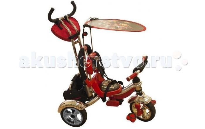 Велосипед трехколесный Lexus Mars Trike KR01Н с надувными колесамиMars Trike KR01Н с надувными колесамиТрехколесный велосипед Mars Trike KR01Н с надувными колесами. Подарит радость малышу и максимум удобства родителям. Высококачественный велосипед в ярких расцветках понравится родителям внешне, а ребенку понравится удобство посадки и комфорт. Велосипед снабжен подножкой для самых маленьких, которые ещё не научились крутить педали, а для тех, кто постарше она убирается легким движением руки. Солнцезащитный козарек имеет оригинальную овальную форму и плоскую поверхность, что несомненно добавляет ему привлекательности.  Во время прогулки несомненное качество велосипеда - это вместительность! На борту имеется специальная корзина, в которую можно сложить запасные подгузники и бутылочки с водой, а так же на ручке прикреплен карман для полезных и ценных мелочей, которые будут всегда под рукой в случае необходимости.  Особенности:  Рама изготовлена из металла; Широкие надувные колеса; Подножка с пластиковыми накладками; Большая, съемная задняя корзина; Удобный разъемный бампер; Защитный козырек съемный; Удобная поворотная рукоятка с полеретановым мягким покрытием; Рюкзак на ручке. Размер велосипеда (ДхШхВ), см: 86х50х100;<br>