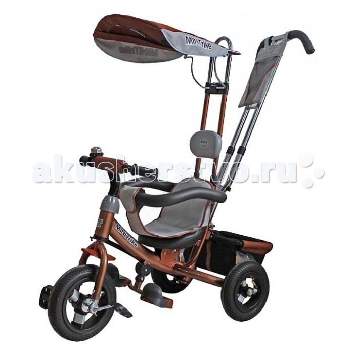 Трехколесные велосипеды Mars Mini Trike с отдельной управляемой ручкой велосипед для малыша mars mini trike chic 2 orange
