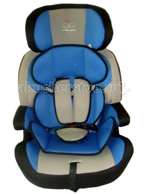 Автокресло Little King DSCL01ADSCL01AУниверсальное кресло Little King DSCL01A предназначено для детей возрастной группы от 9 месяцев до 12 лет и весом от 9 до 36 кг. Группа I: 9 – 18 кг, Группа II: 15 – 25 кг, Группа III 22 – 36 кг  Особенности: съемные пятиточечные ремни безопасности имеют мягкие накладки подголовник автокресла имеет боковую защиту и регулируется по росту ребенка мягкий съемный вкладыш спинку автокресла можно снять и перевозить ребенка на подушке-бустере обивку можно снимать и стирать  Автокресло отвечает европейскому стандарту качества ЕСЕ R44/04<br>