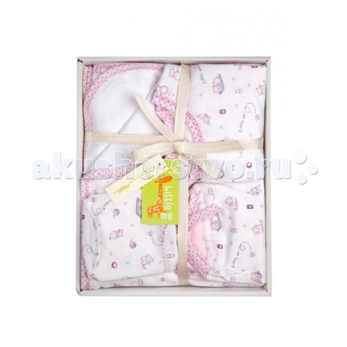 Комплекты на выписку Little me для новорожденного (6 предметов) little me комплект распашонка и чепчик тонкие для девочки