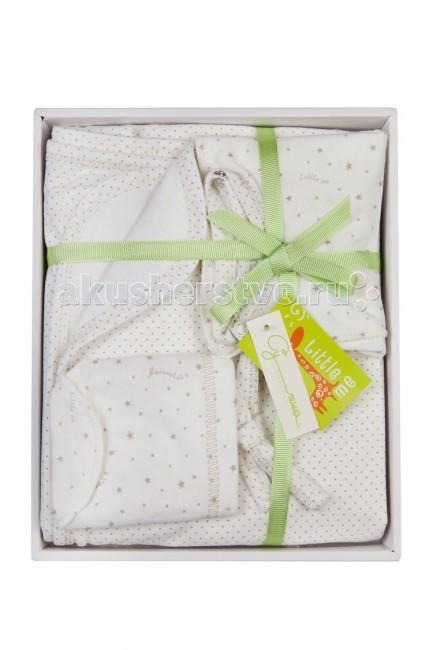 Комплекты на выписку Little me для новорожденного 7303 (4 предмета) little me комплект распашонка и чепчик тонкие для девочки