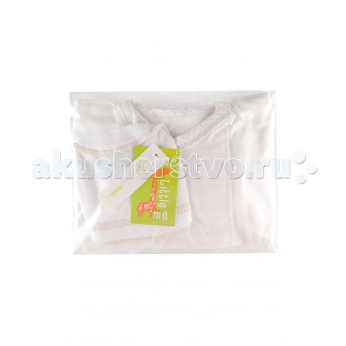 Комплекты детской одежды Little me Комплект для новорожденных 4 предмета (супима) little me комплект распашонка и чепчик тонкие для девочки