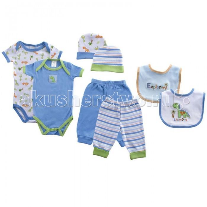 Комплекты детской одежды Luvable Friends Подарочный набор Расти со мной (8 предметов) 07072 подарочный набор 8 марта