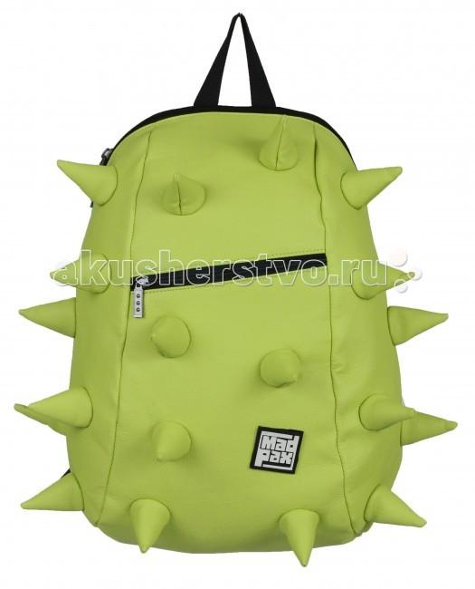 MadPax Рюкзак Rex VE Full Front ZipperРюкзак Rex VE Full Front ZipperРюкзак Rex VE Full Front Zipper MadPax  Стильный и практичный рюкзак, уместный в ритме большого города.   Закрывается на молнию. Модель помимо лямки для переноски в руке, имеет мягкие и широкие регулируемые лямки.   Стильное дополнение этой новинки является асимметричный карман на молнии спереди, что придает изделию дерзость и эффектность.   Полностью вентилируемая и ортопедическая спинка создаёт дополнительный комфорт Вашей спине.  Материал - 100% полиуретан  Размер - 46х36х20 см  Появление этой аксессуарной марки взорвало мир моды! Рюкзаки от MadPax поистине созданы для ярких неординарных личностей. Если вы хотите, чтобы вы сами или ваш ребенок выделялись из толпы, если для вас важно подчеркнуть активную жизненную позицию, тогда этот бренд – для вас! Рюкзаки MadPax подходят как детям, так и взрослым. Коллекции MadPax – это рюкзаки с шипами, пузырями или фантазийными дорожками, напоминающими о тетрисе. Для производства этих уникальных вещей используются самые передовые полимерные материалы. Можете быть спокойны – продукция проходит тщательный контроль качества, а шипы и пузыри мягкие на ощупь.<br>