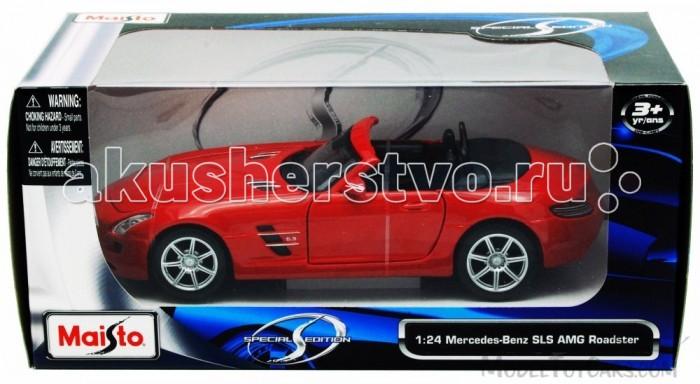 Машины Maisto Автомобиль Mercedes-Benz SLS AMG Roadste bburago модель автомобиля mercedes benz sls amg roadster