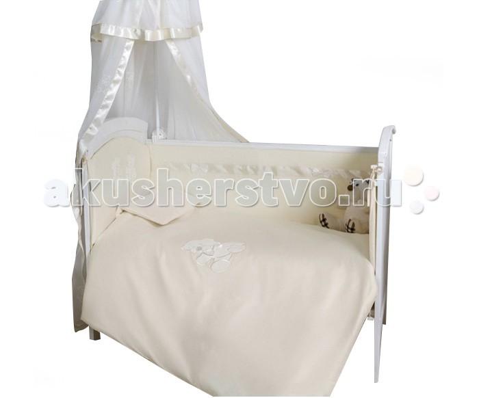 Комплекты в кроватку Makkaroni Kids Тедди 120х60 (6 предметов) комплект в колыбель симплисити makkaroni kids тедди 3 пр